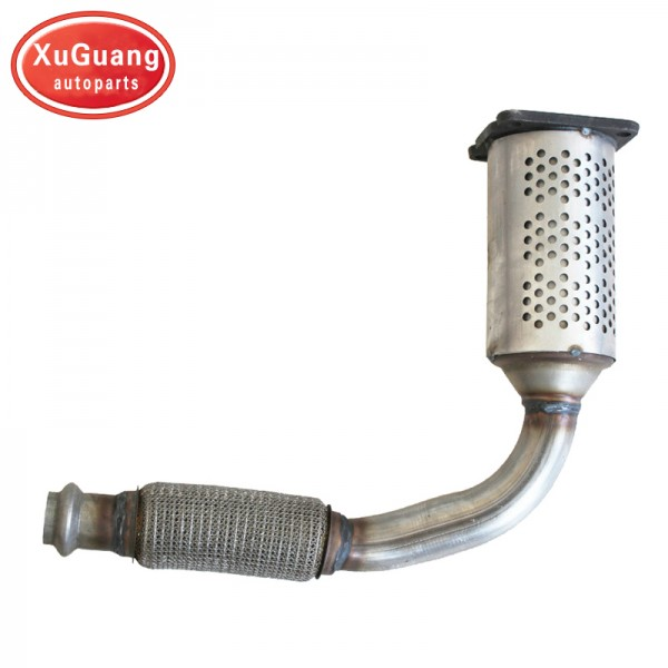 High quality Direct fit Three-way Exhaust catalyti...