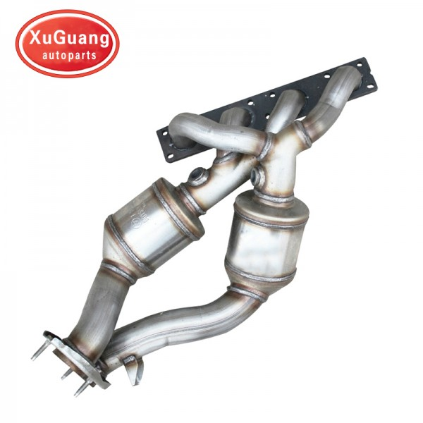 XG-AUTOPARTS Direct fit Catalytic converter for BM...