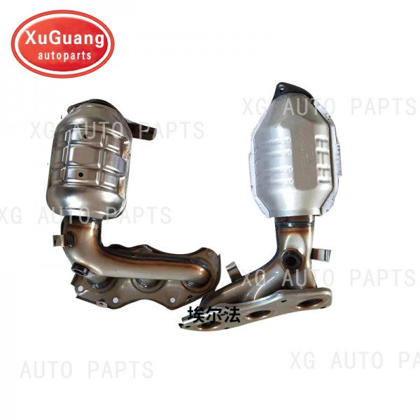 XG-AUTOPARTS exhaust system for Toyota alphard cat...