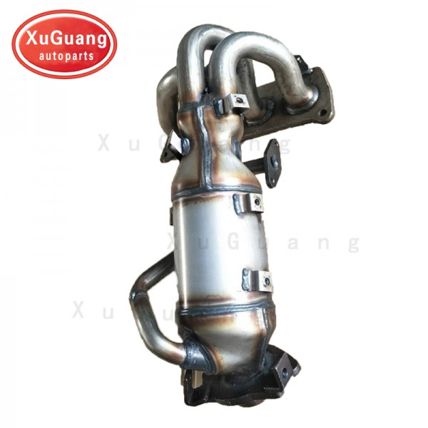 XG-AUTOPARTS Exhaust Manifold with Integrated Cata...