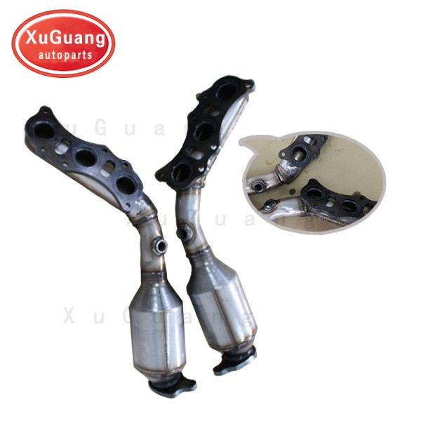 XG-AUTOPARTS Direct Fit old model Toyota 4Runner V6 4.0L fit Toyota FJ Cruiser Exhaust Manifold Catalytic Converter Assembly