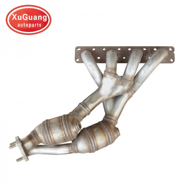 XG-AUTOPARTS fit for BMW E46 318 catalytic convert...