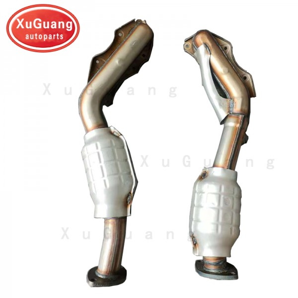 XG-AUTOPARTS Exhaust Manifold with Catalytic Conve...