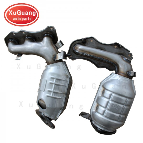 XG-AUTOPARTS high quality exhaust manifold with in...