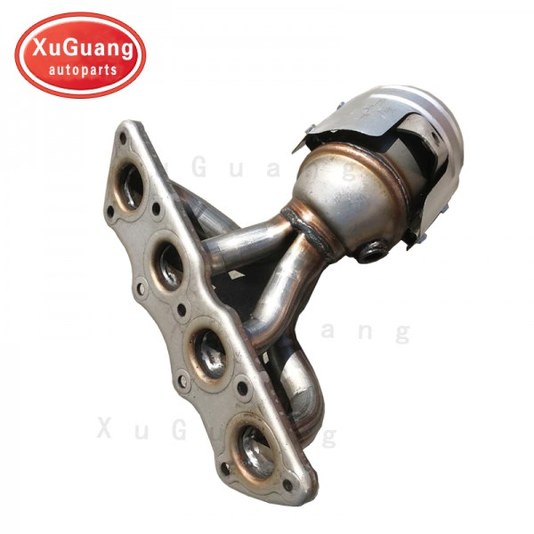 XG-AUTOPARTS Catalytic Converter with Integrated E...