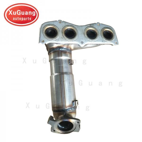 XG-AUTOPARTS Exhaust Manifold Catalytic Converter ...