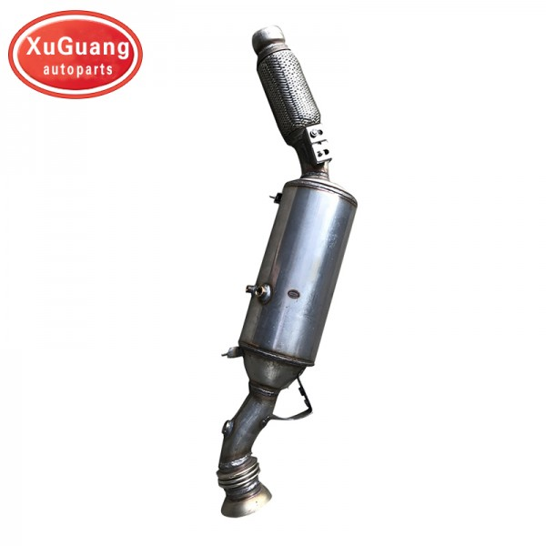 XG-AUTOPARTS Stainless Steel Exhaust Down Pipe Cat...