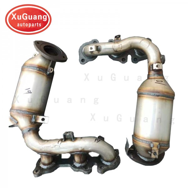 XG-AUTOPARTS Catalytic Converter Compatible with 2...
