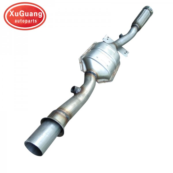 High quality Direct fit Three-way Exhaust manifold...
