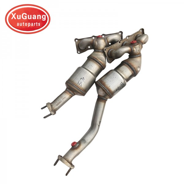 XG-AUTOPARTS New arrival popular direct fit Catalytic converter for BMW E70 with catalyst inside